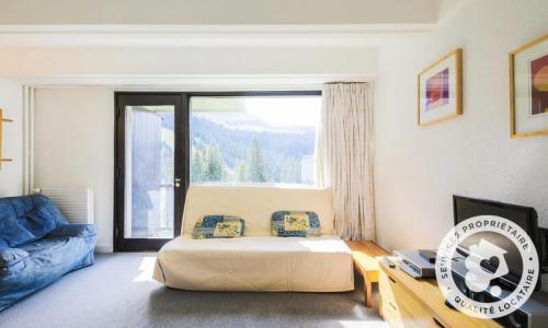 Wakacje w górach Apartament 2 pokojowy 6 osób (Confort 44m²-3) - Résidence Aldébaran - Maeva Home - Flaine - Pokój gościnny