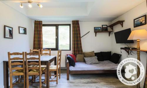 Wakacje w górach Studio 4 osoby (Confort 28m²-5) - Résidence Aldébaran - Maeva Home - Flaine - Pokój gościnny