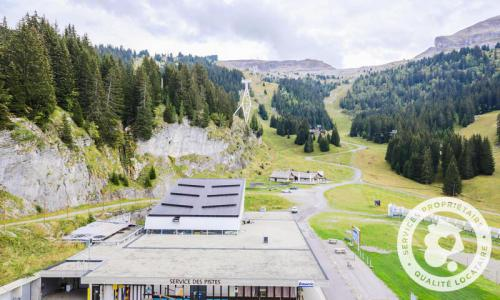 Wakacje w górach Studio 4 osoby (Confort 28m²-5) - Résidence Aldébaran - Maeva Home - Flaine - Na zewnątrz latem
