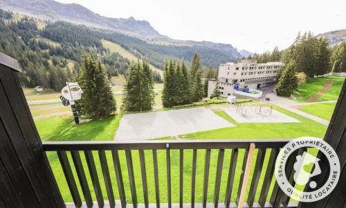 Wakacje w górach Apartament 2 pokojowy 6 osób (Confort 43m²-4) - Résidence Aldébaran - Maeva Home - Flaine - Na zewnątrz latem
