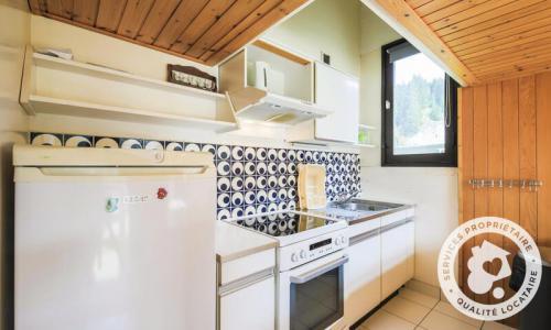 Wakacje w górach Apartament 2 pokojowy 8 osób (Budget 32m²-1) - Résidence Aldébaran - Maeva Home - Flaine - Aneks kuchenny
