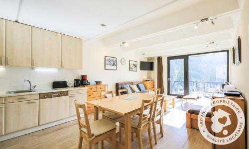 Wakacje w górach Apartament 3 pokojowy 8 osób (Confort 58m²-2) - Résidence Aldébaran - Maeva Home - Flaine - Aneks kuchenny