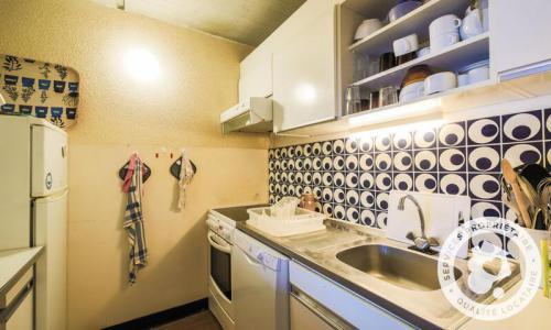 Wakacje w górach Apartament 2 pokojowy 6 osób (Budget 47m²-8) - Résidence Aldébaran - Maeva Particuliers - Flaine - Aneks kuchenny