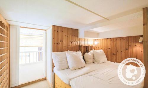 Wakacje w górach Apartament 2 pokojowy 8 osób (Budget 32m²-1) - Résidence Aldébaran - Maeva Particuliers - Flaine - Łóżkiem
