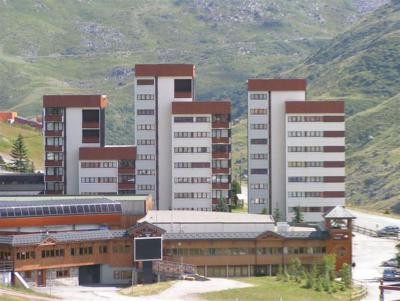 Location au ski Résidence Alpages - Les Menuires - Extérieur été