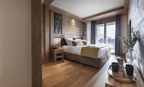 Wakacje w górach Résidence Alpen Lodge - La Rosière - Łóżkem małżeńskim