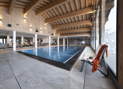 Vacances en montagne Résidence Alpen Lodge - La Rosière - Piscine