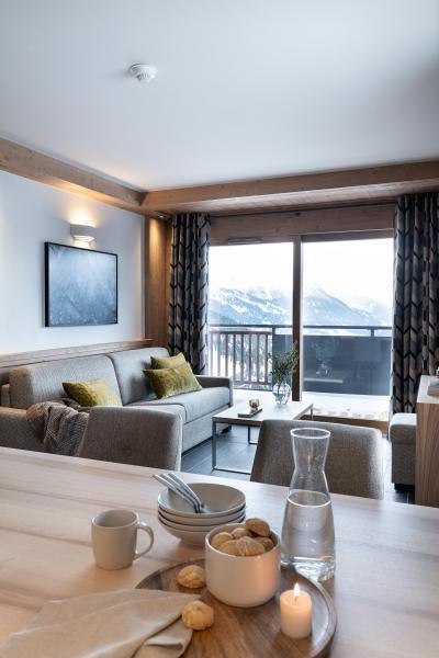 Wakacje w górach Résidence Alpen Lodge - La Rosière - Pokój gościnny