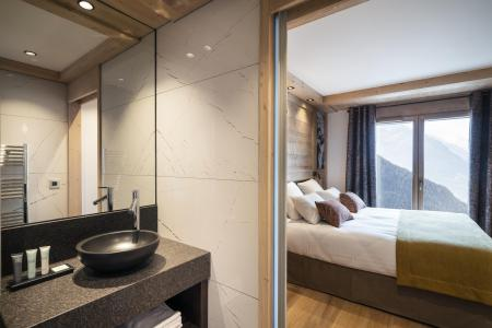 Vacances en montagne Résidence Alpen Lodge - La Rosière - Salle d'eau