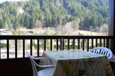 Holiday in mountain resort Studio sleeping corner 4 people (021) - Résidence Alpina - Le Grand Bornand