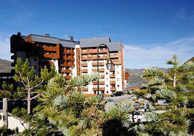 Location au ski Residence Altineige - Val Thorens - Extérieur été