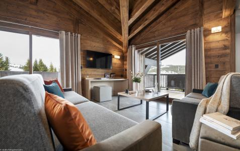 Vacances en montagne Résidence Amaya - Les Saisies - Canapé
