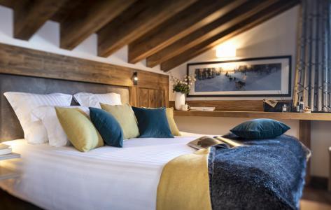 Vacances en montagne Résidence Amaya - Les Saisies - Chambre mansardée