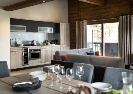 Vacances en montagne Résidence Amaya - Les Saisies - Cuisine ouverte