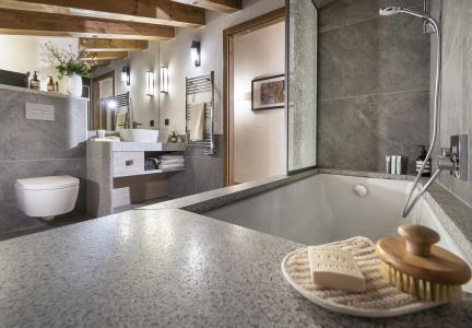 Vacances en montagne Résidence Amaya - Les Saisies - Salle de bains