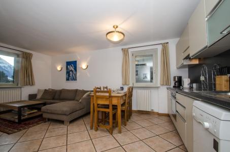 Vacances en montagne Appartement duplex 4 pièces 6 personnes - Résidence Androsace - Chamonix - Séjour
