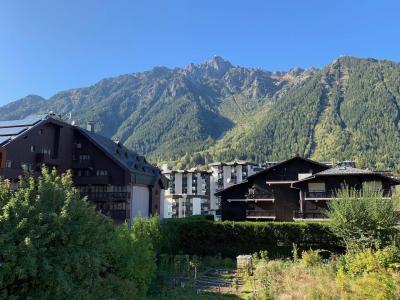 Rent in ski resort 2 room apartment 2 people (ALLEGRIA) - Résidence Androsace du Lyret - Chamonix - Summer outside