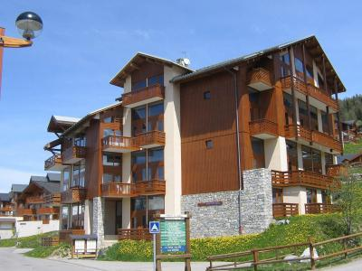 Location au ski Residence Arc En Ciel - Peisey-Vallandry - Extérieur été
