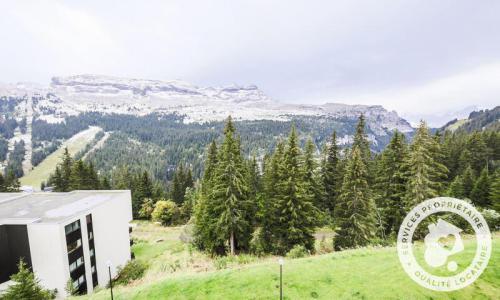 Wakacje w górach Studio 4 osoby (Confort 30m²-4) - Résidence Arche - Maeva Home - Flaine - Na zewnątrz latem