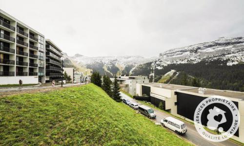 Wakacje w górach Apartament 2 pokojowy 4 osób (Sélection 33m²-2) - Résidence Arche - Maeva Home - Flaine - Na zewnątrz latem