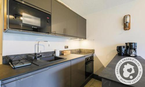 Wakacje w górach Apartament 2 pokojowy 4 osób (Sélection 33m²-2) - Résidence Arche - Maeva Home - Flaine - Aneks kuchenny