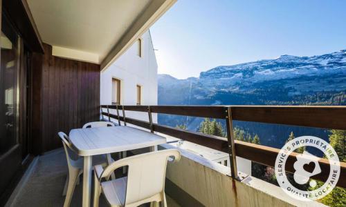 Wakacje w górach Apartament 2 pokojowy 6 osób (Confort 42m²-4) - Résidence Arche - Maeva Home - Flaine - Na zewnątrz latem