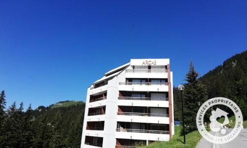 Wakacje w górach Résidence Arche - Maeva Home - Flaine - Na zewnątrz latem