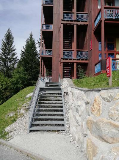 Vacances en montagne Studio 4 personnes (000) - Résidence Archeboc - Les Arcs - Extérieur été