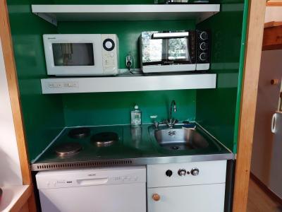 Vacances en montagne Studio coin montagne 5 personnes (111) - Résidence Archeboc - Les Arcs - Cuisine