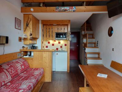 Vacances en montagne Studio mezzanine 5 personnes (425) - Résidence Archeboc - Les Arcs - Séjour