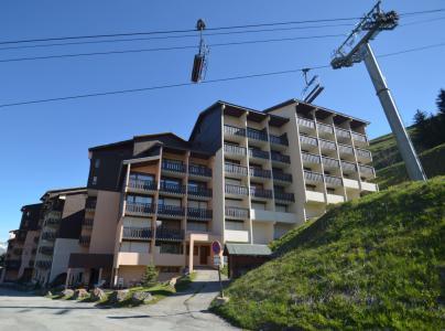Vacances en montagne Résidence Argousier - Les Menuires - Extérieur été