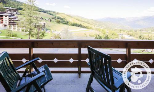 Vacances en montagne Appartement 2 pièces 5 personnes (Sélection 32m²-1) - Résidence Athamante et Valériane - Maeva Home - Valmorel - Extérieur été