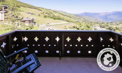 Vacances en montagne Appartement 2 pièces 5 personnes (Sélection 32m²-2) - Résidence Athamante et Valériane - Maeva Home - Valmorel - Extérieur été