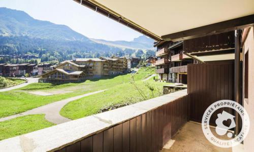 Vacances en montagne Appartement 2 pièces 6 personnes (Sélection 39m²-1) - Résidence Athamante et Valériane - Maeva Home - Valmorel - Extérieur été