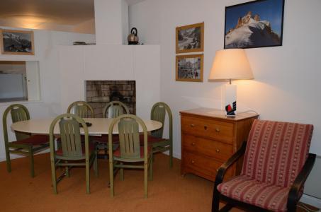 Vacances en montagne Appartement 2 pièces 6 personnes (A2) - Résidence Balance - Flaine - Table