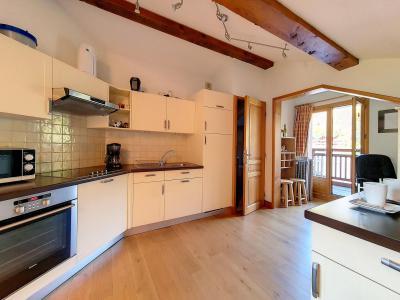 Holiday in mountain resort 3 room apartment 6 people (B8) - Résidence Balcons de Tougnette - Saint Martin de Belleville - Dining area