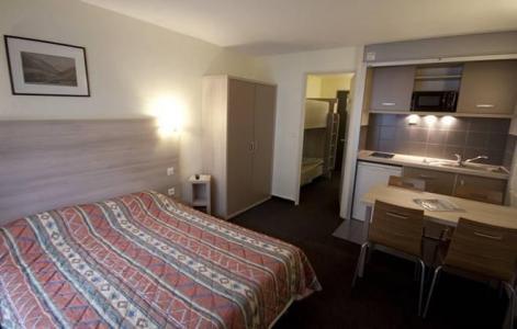 Urlaub in den Bergen Résidence Balnéo Aladin - Cauterets - Doppelbett