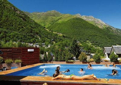 Location au ski Residence Balneo Aladin - Cauterets - Extérieur été