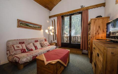 Vacances en montagne Studio mezzanine 4 personnes (La Poya) - Résidence Bâtiment B - Chamonix - Séjour