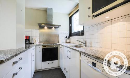 Wakacje w górach Apartament 3 pokojowy 8 osób (Sélection 72m²-2) - Résidence Bélier - Maeva Home - Flaine - Aneks kuchenny