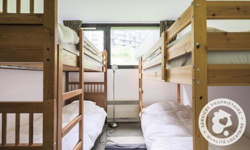 Wakacje w górach Apartament 3 pokojowy 8 osób (Sélection 72m²-2) - Résidence Bélier - Maeva Particuliers - Flaine - Łóżkami piętrowymi