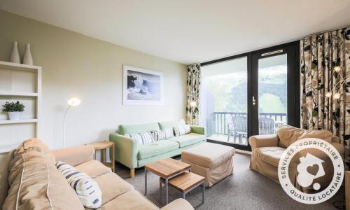 Wakacje w górach Apartament 3 pokojowy 8 osób (Sélection 72m²-2) - Résidence Bélier - Maeva Particuliers - Flaine - Pokój gościnny