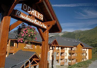Location au ski Residence Belle Vue - Saint-François Longchamp - Extérieur été