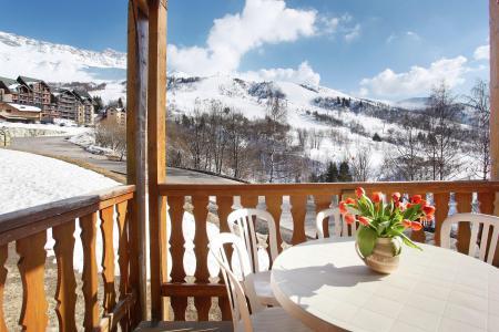 Vacances en montagne Résidence Belle Vue - Saint-François Longchamp - Balcon