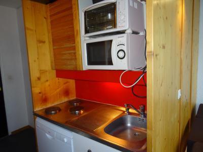 Vacances en montagne Appartement 2 pièces 5 personnes (302) - Résidence Bellecôte - Arc 1800 - Les Arcs - Cuisine