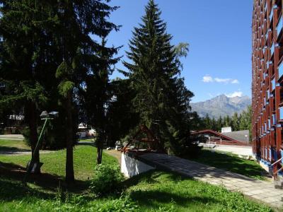 Vacances en montagne Studio coin montagne 4 personnes (534) - Résidence Belles Challes - Les Arcs - Extérieur été