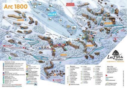 Vacances en montagne Studio coin montagne 4 personnes (844) - Résidence Belles Challes - Les Arcs