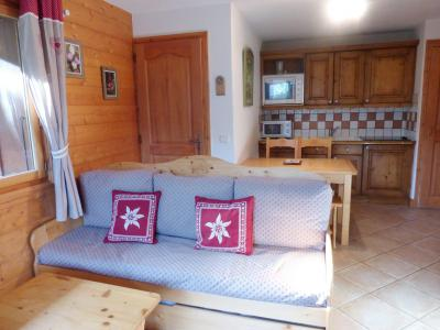 Vacances en montagne Appartement 3 pièces 4 personnes (1D R) - Résidence Bergerie des 3 Vallées D - Méribel - Séjour