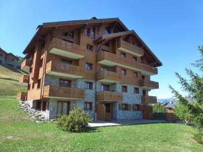 Vacances en montagne Résidence Bergerie des 3 Vallées F - Méribel - Extérieur été