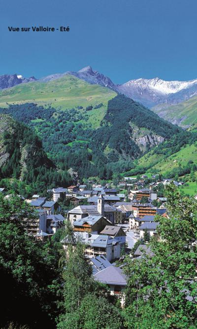 Location au ski Residence Betelgeuse - Valloire - Extérieur été